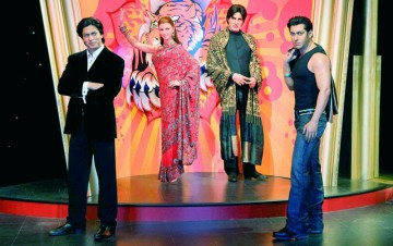 Indians at Madame Tussauds