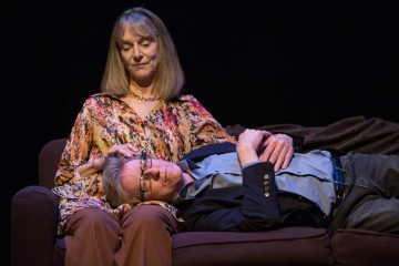 Nancy Palk and Robert-Thomson in You Will Remember Me. Photo by Cylla von Tiedemann.