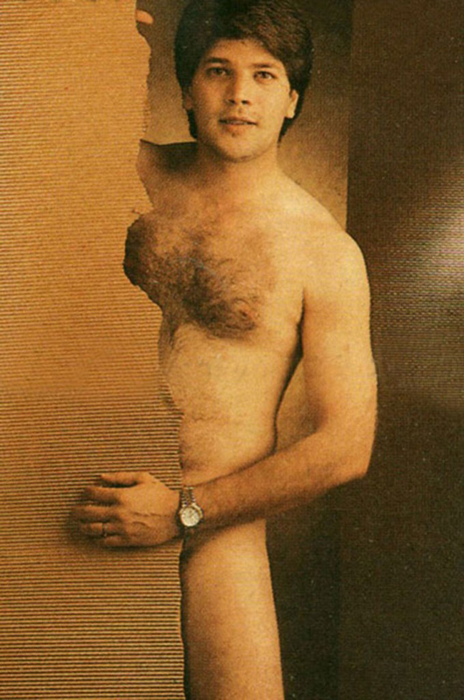 Actor Aditya Pancholi in naked photoshoot in the 1990s.