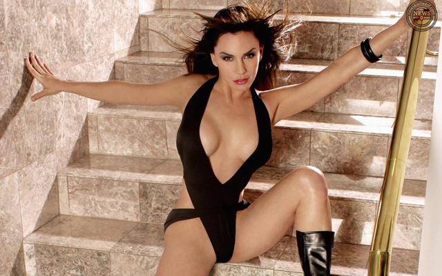American actress and model Krista Allen