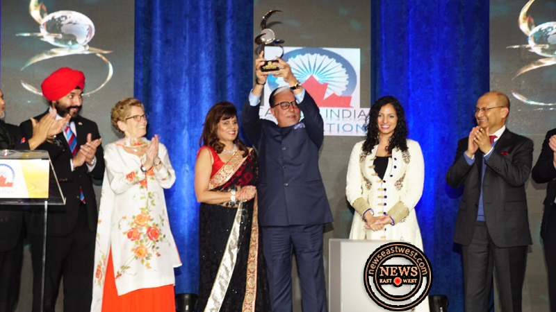 Zee TV to make Canada its second home as Subhash Chandra accepts CIF Chanchlani Global Indian Award from Canada India Foundation