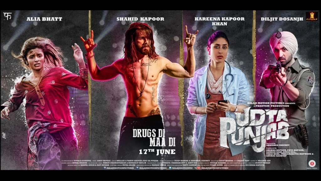 Galis galore in Udta Punjab trailer