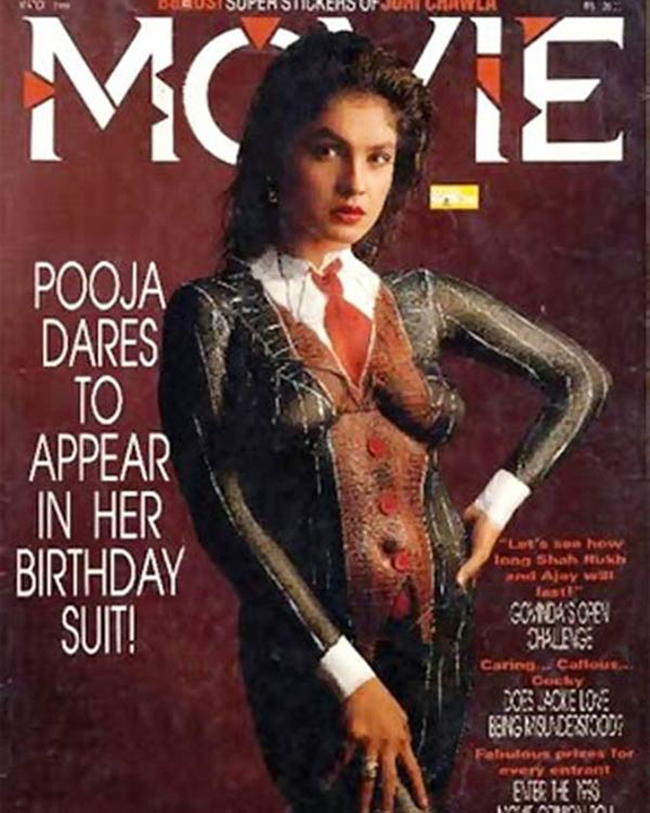 Pooja Bhatt on magazine cover