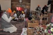 Prime Minister Narendra Modi praying at Bhai Ganga Singh Sabha Gurudwara in Tehran on May 22.
