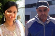 Gurpreet Ronald (left) and her love Bhupinderpal Gill found guilty of killing Gill's wife.