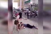 WATCH: Chinese man filmed begging his girlfriend not to leave him