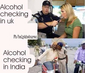 alcohol checking