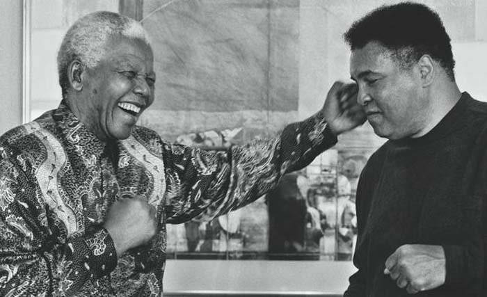 Muhammad Ali sought world peace like Gandhi and King
