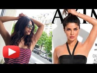 Priyanka Chopra reacts to controversy over her underarm
