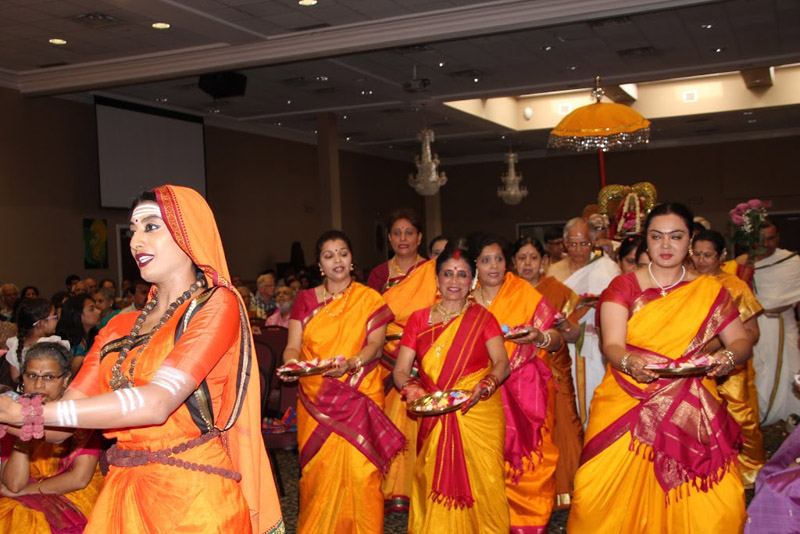 Toronto Sringeri temple celebrates sixth anniversary with world drama premiere of Adi Shankara's epic poem Saundarya Lahari