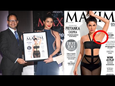 Priyanka Chopra at Maxim Magazine cover launch