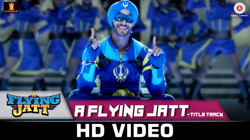 Title song of the film Flying Jatt