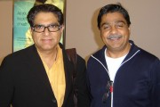 Astrologer Sanjeev Verma (right) with Deepak Chopra