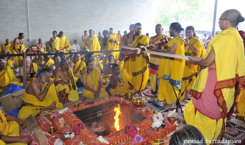 Toronto's biggest Hindu ceremony at Sringeri temple creates positive vibes