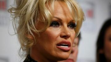 Pamela Anderson - a vegetarian