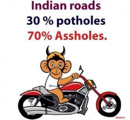 Potholes and assholes
