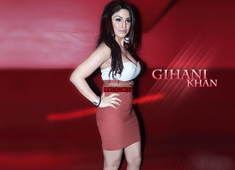 Actress Gihana Khan