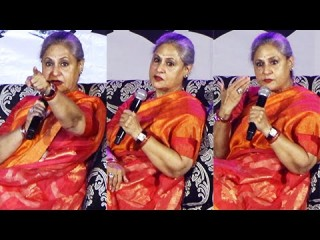 Look how Jaya Bachchan scolds students