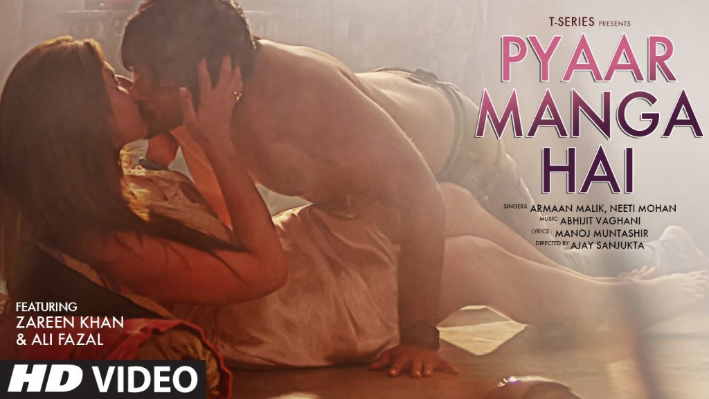PYAAR MANGA HAI song featuring Zareen Khan,Ali Fazal | Armaan Malik, Neeti Mohan