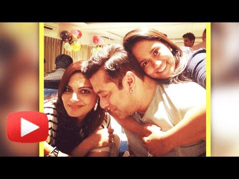 Salman Khan's sister Arpita's birthday video