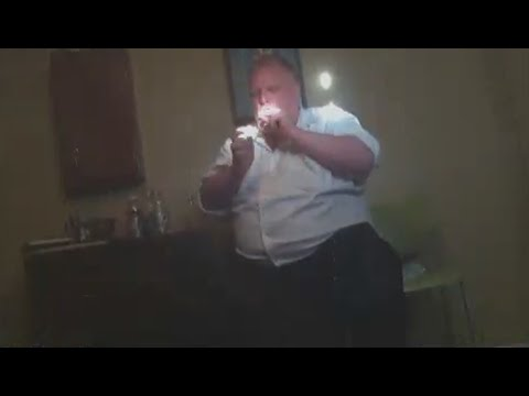 See here Toronto's late mayor Rob Ford smoking cocaine!