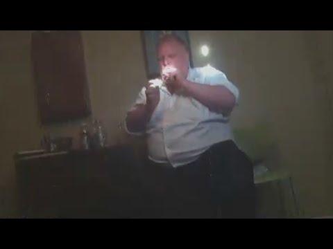 See here Toronto's late mayor Rob Ford smoking cocaine!