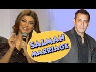 Sushmita Sen celebrates Salman Khan marriage