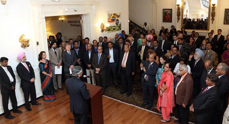 Washington DC farewell to Indian Ambassador Arun Kumar Singh