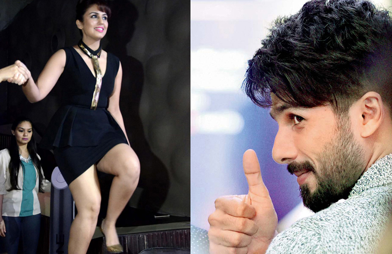 Huma Qureshi and Shahid Kapoor