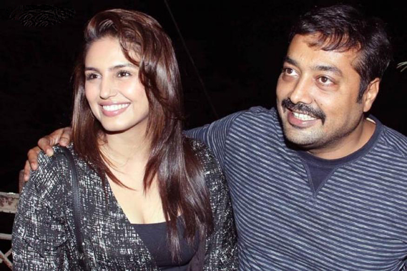 Huma Qureshi with Anurag Kashyap