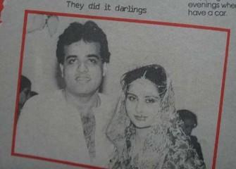 Poonam Dhillon wedding picture