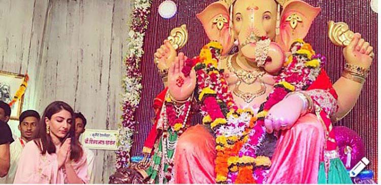 Soha Ali Khan gets trolled for Ganesha worship