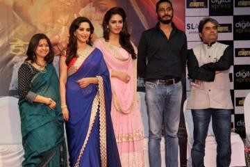 Huma seen next to Abhishek