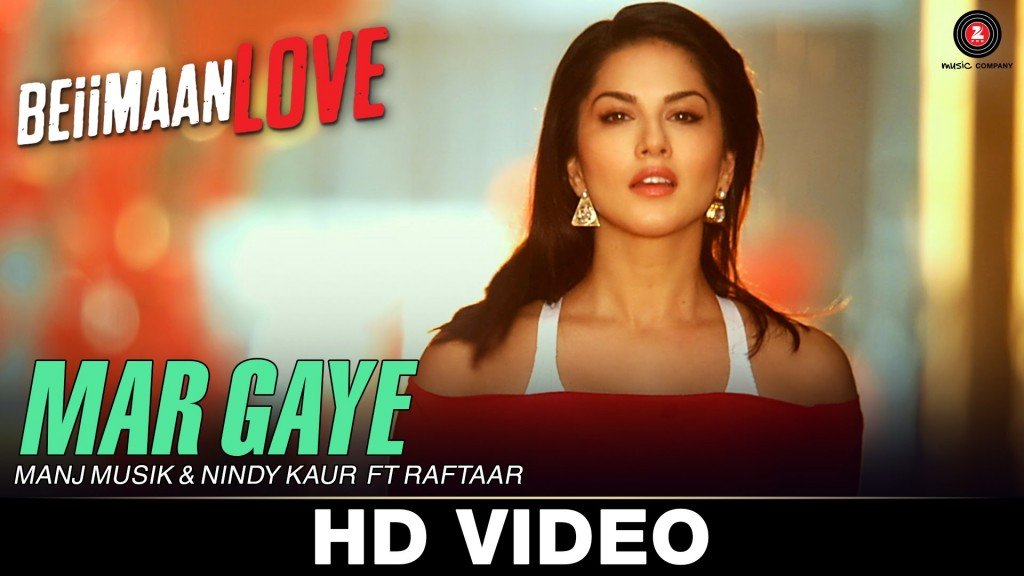 Sunny Leone in Mar Gaye song from Beiimaan Love