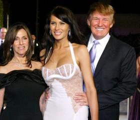 Melania with husband Donald Trump.