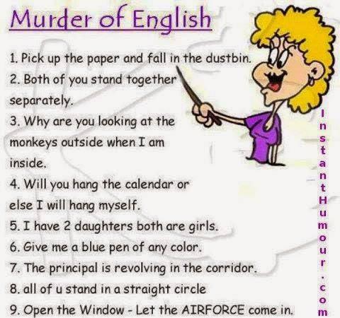 Murder of English