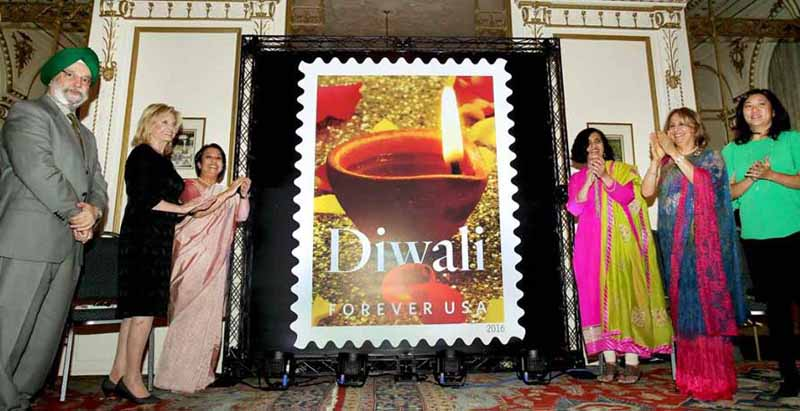 US releases Diwali stamp