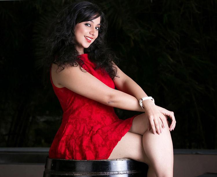 Actress Saba Saudagar