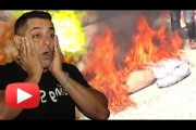 Salman Khan's effigy burnt for supporting Pakistani actors