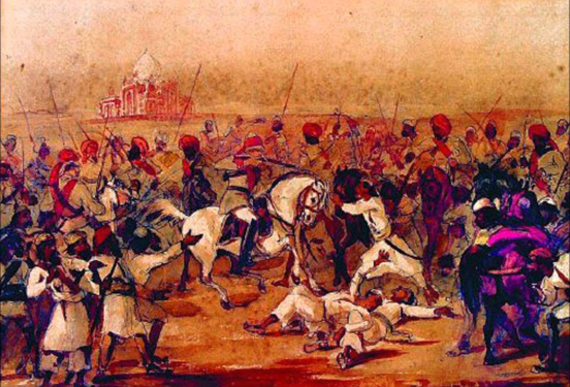 Role of the Sikhs in the Mutiny of 1857