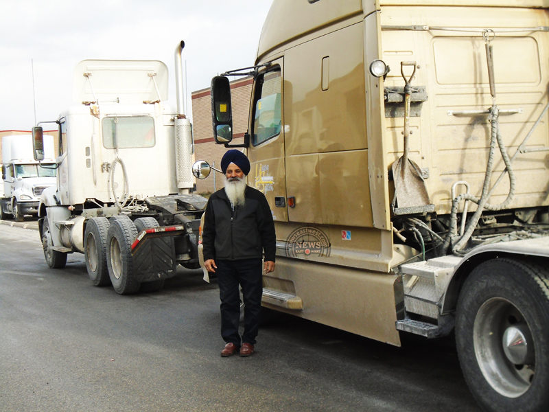 Nachhattar Singh Chohan, president of the Indian Trucking Association.