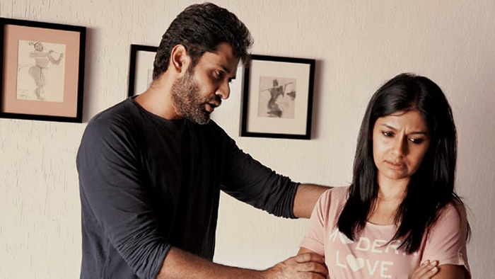 Nandita Das seen with husband Subodh