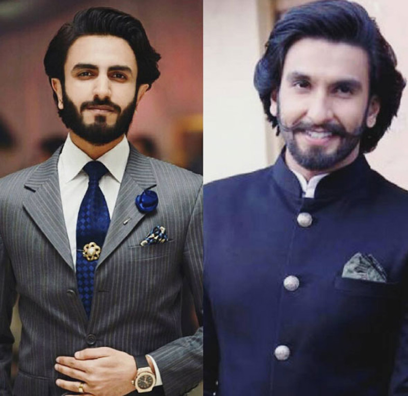Ranveer Singh's lookalike in Pakistan becomes Internet sensation