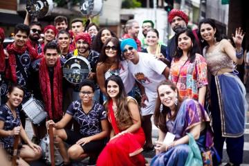 Bloco Bollywood fun