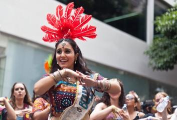 Bloco Bollywood in Sao Paulo