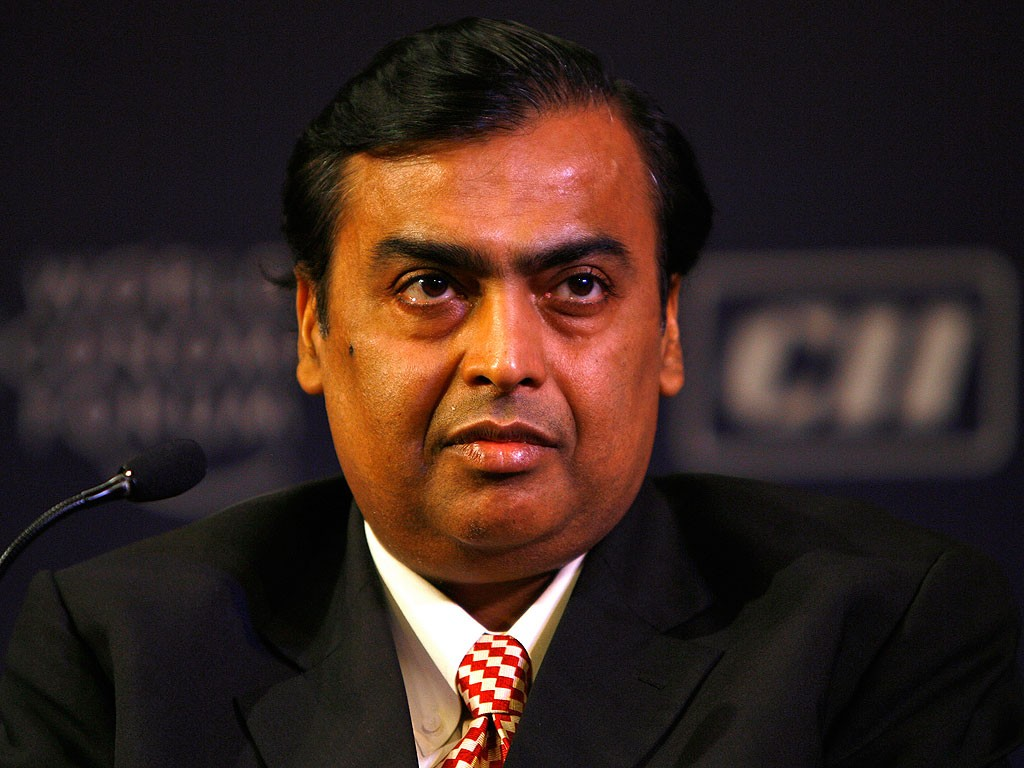 India's richest man Mukesh Ambani says money alone has little meaning for him