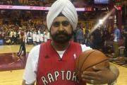 Toronto Raptors Superfan Nav Bhatia