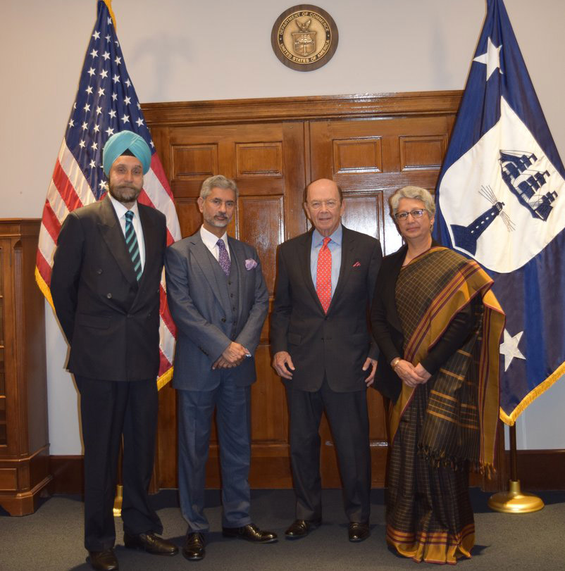India's Foreign and Commerce secretaries hold talks in Washington to revive ties