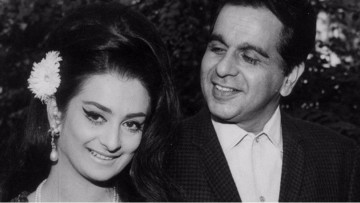 Dilip Kumar (right)