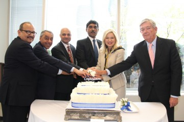 The inauguration of SBI Canada headquarters  in Mississauga.